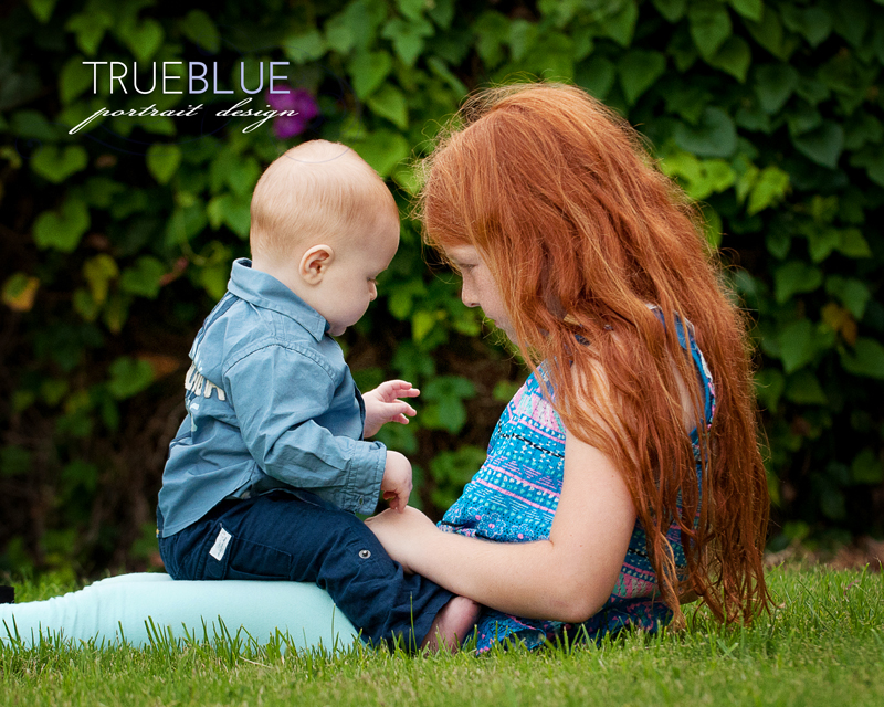 The love between siblings is strong. It may get tested, but it will last. Capture that with family portraits.