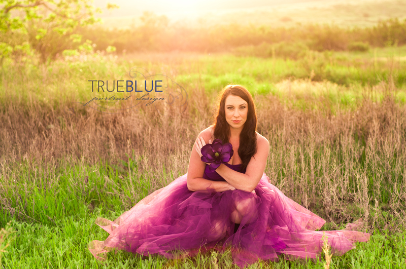 girl in tutu in field