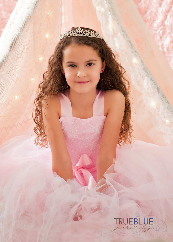 little girl princess styled photoshoots