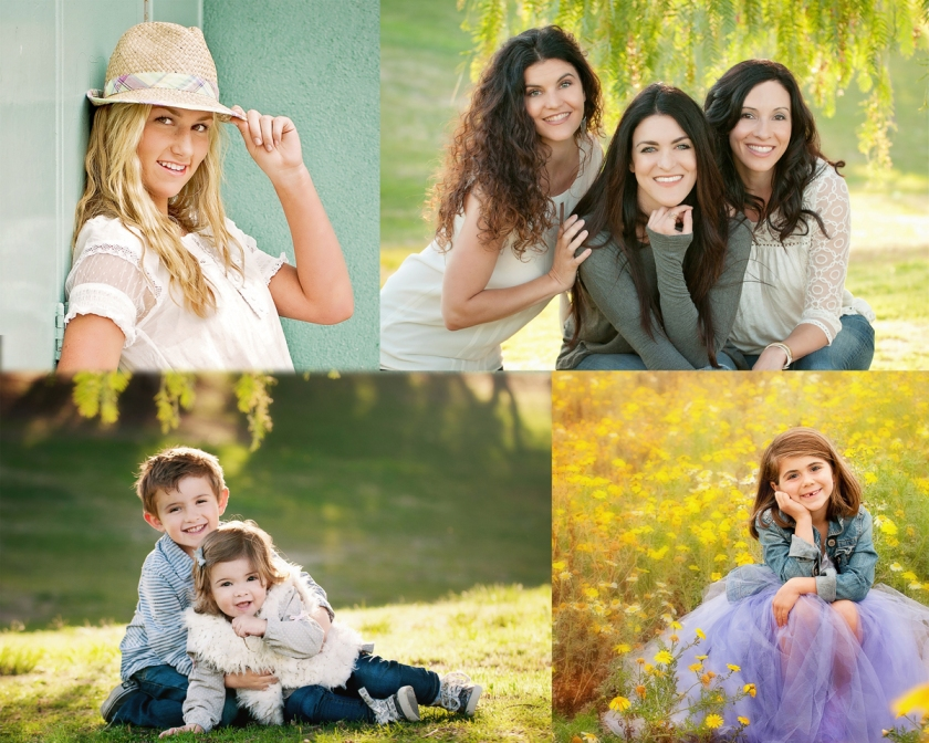 child and family portraits by TRUE BLUE Portrait
