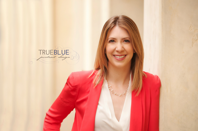 personal branding headshots by TRUE BLUE Portrait